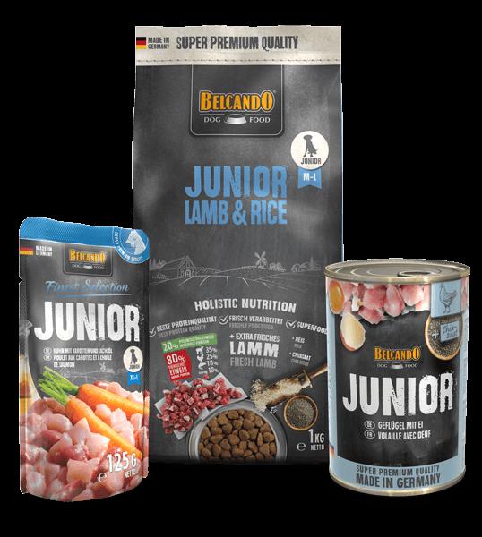 Belcando-Kennlernpaket-Junior-Lamb-Rice